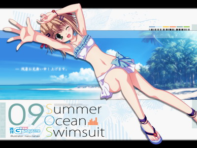 Summer!Ocean!Swimsuit!